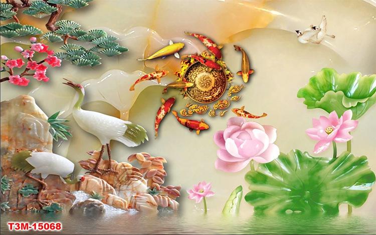Tranh Tùng Hạc - 15068
