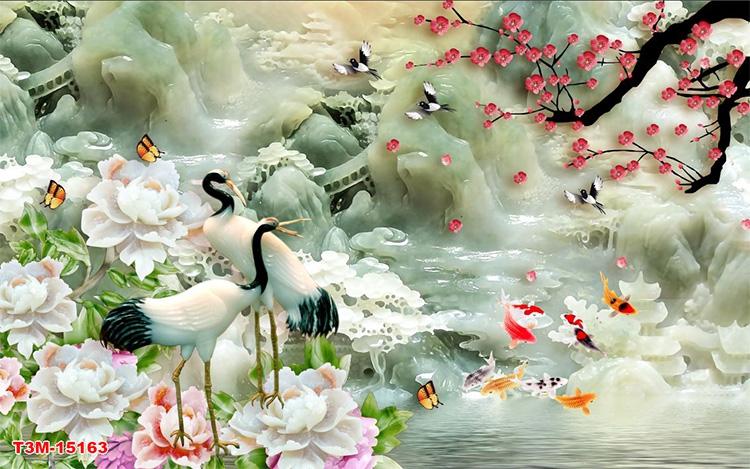 Tranh Tùng Hạc - 15163