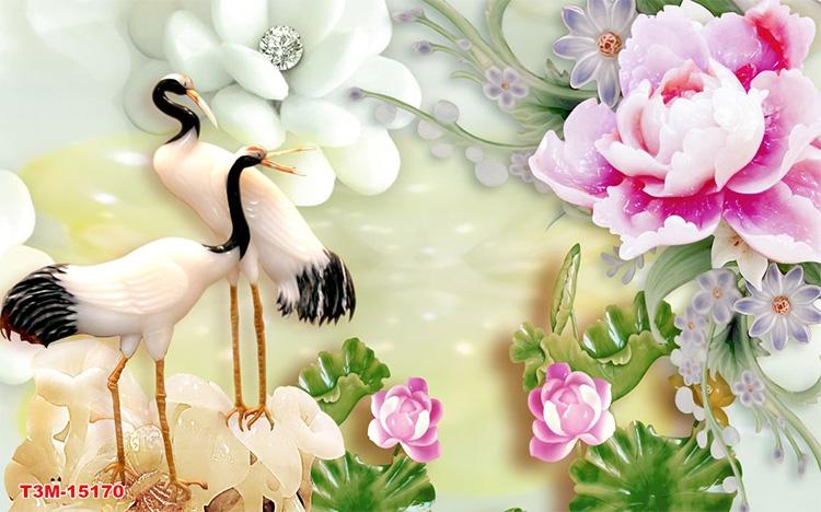 Tranh Tùng Hạc - 15170