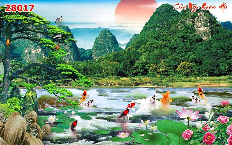 Tranh Sơn Thủy - 28017