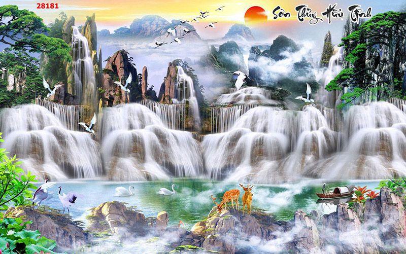 Tranh Sơn Thủy - 28181
