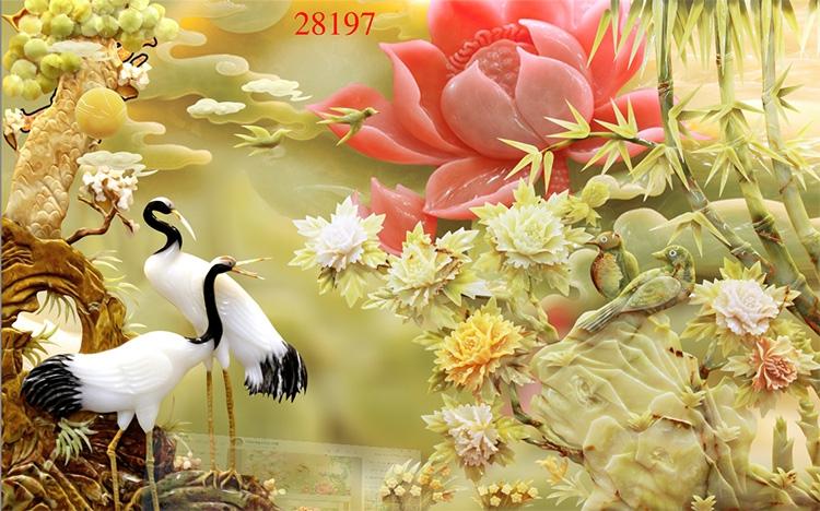 Tranh Tùng Hạc - 28197
