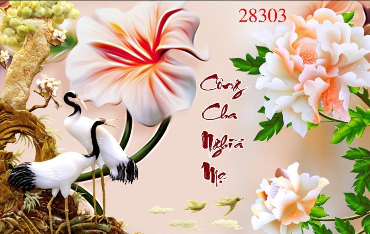 Tranh Tùng Hạc - 28303