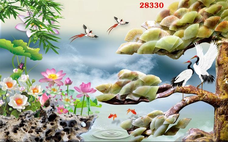 Tranh Tùng Hạc - 28330