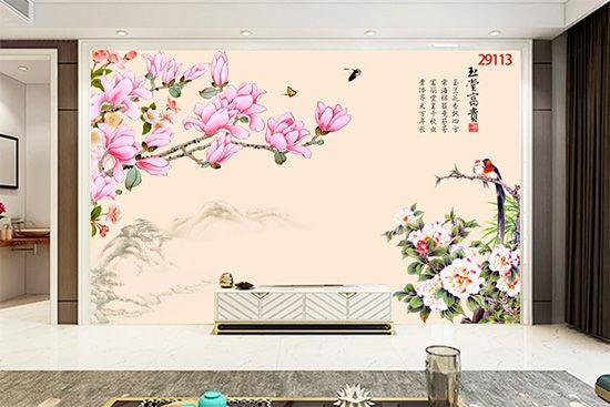 Tranh Hoa 3D - 29113