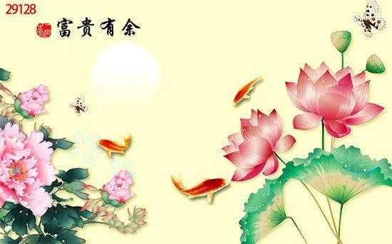 Tranh Hoa 3D - 29128