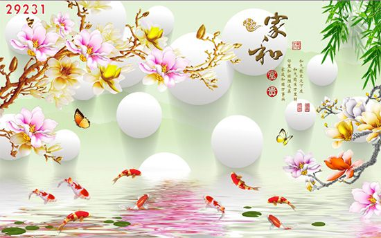 Tranh Hoa 3D - 29231
