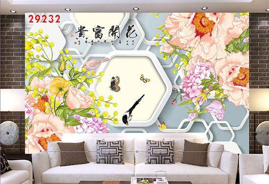 Tranh Hoa 3D - 29232