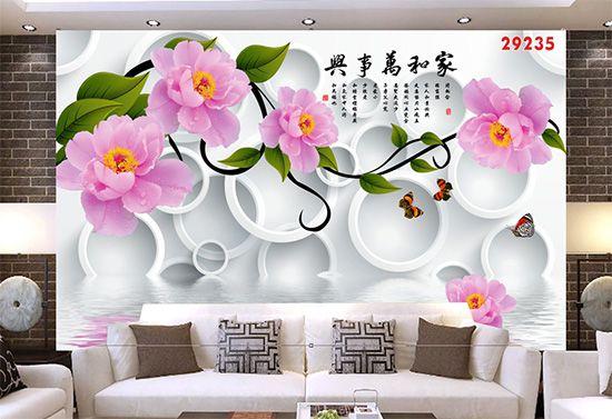 Tranh Hoa 3D - 29235
