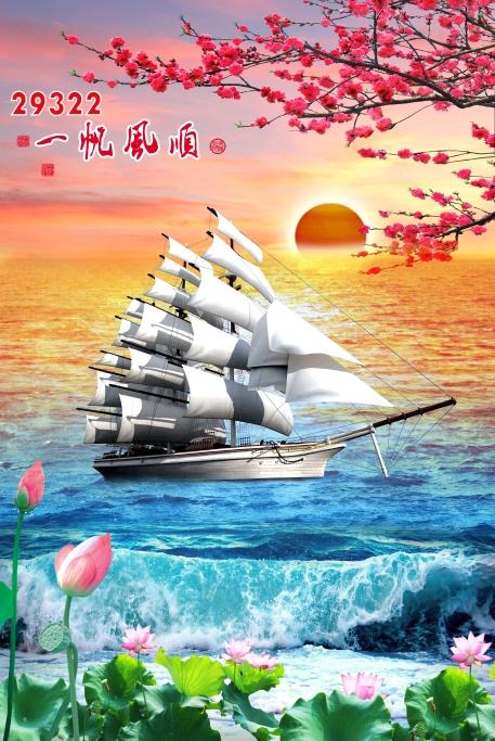 Tranh Thuận Buồm Xuôi Gió - 29322