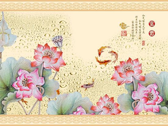 Tranh Hoa Sen - 145
