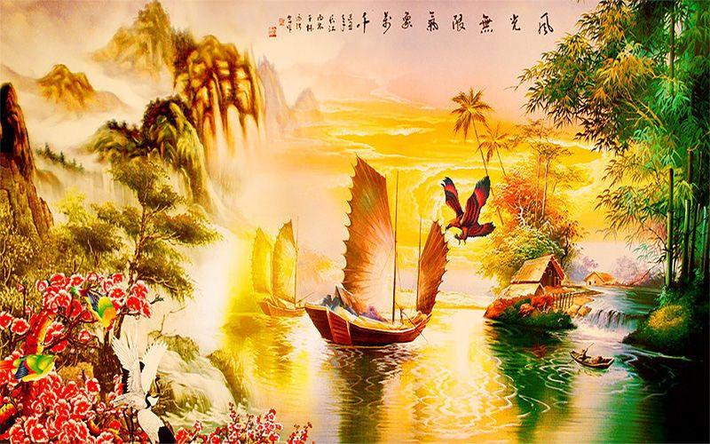 Tranh Sơn Thủy - 157