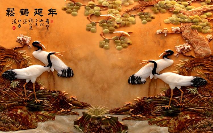 Tranh Tùng Hạc - 1273