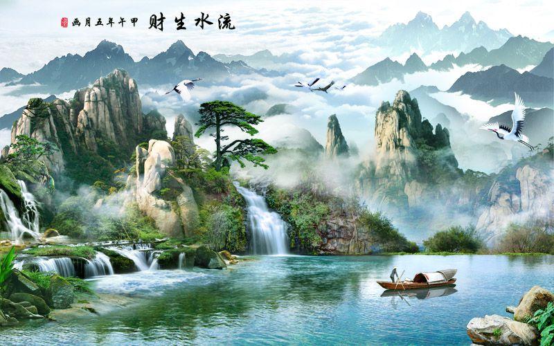 Tranh Sơn Thủy - 1341