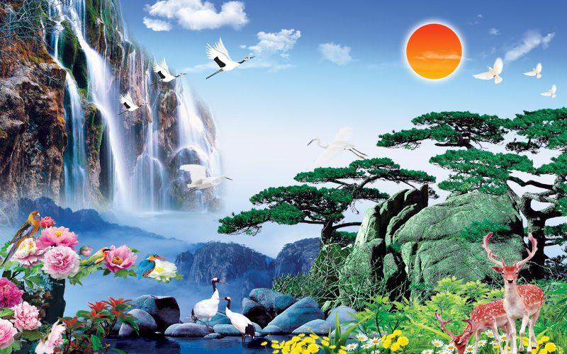 Tranh Sơn Thủy - 2640