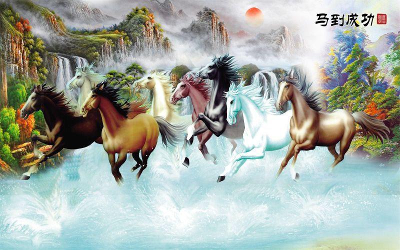 Tranh Mã Đáo Thành Công - 2657