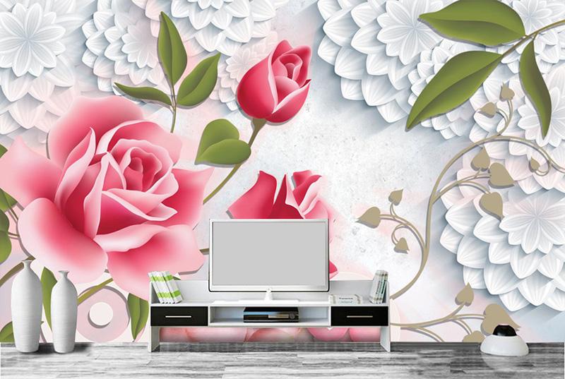 Tranh Hoa 3D - 15508