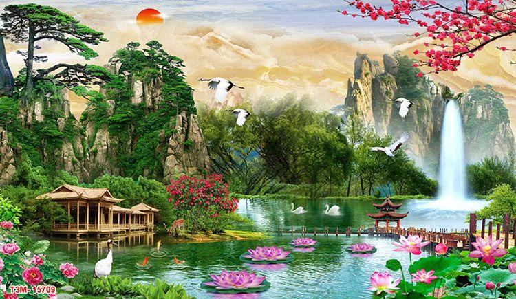 Tranh Sơn Thủy - 15709