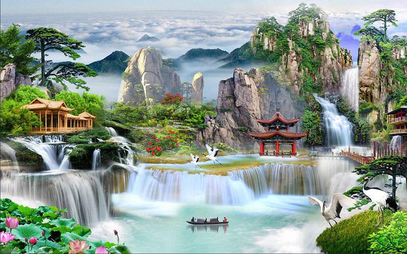 Tranh Sơn Thủy - 20567