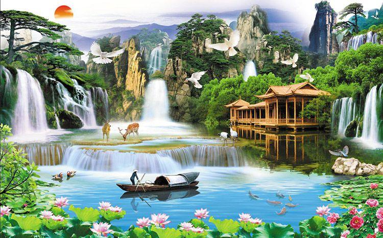 Tranh Sơn Thủy - 20571
