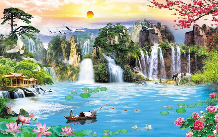 Tranh Sơn Thủy - 20572
