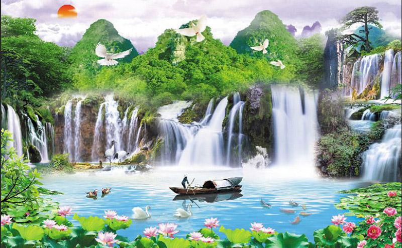 Tranh Sơn Thủy - 20573