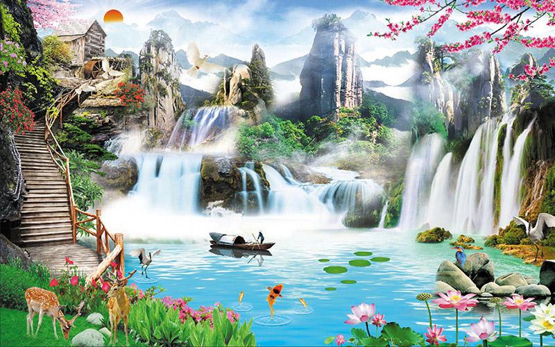 Tranh Sơn Thủy - 20574