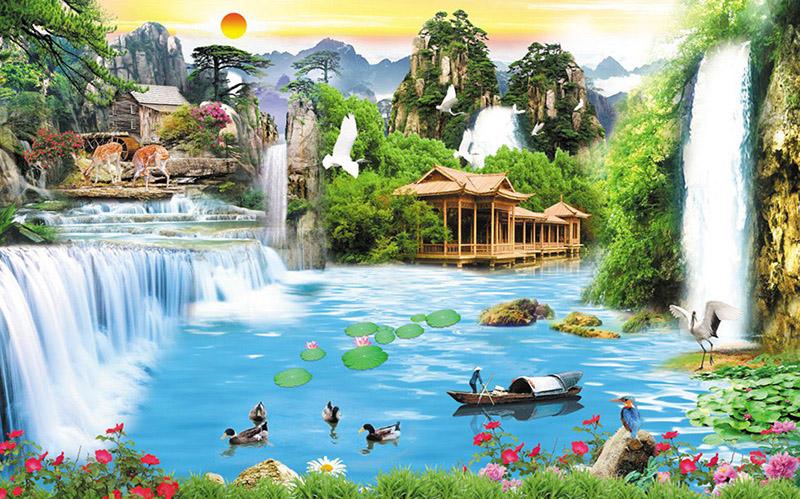 Tranh Sơn Thủy - 20577