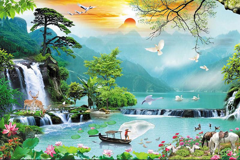 Tranh Sơn Thủy - 20578