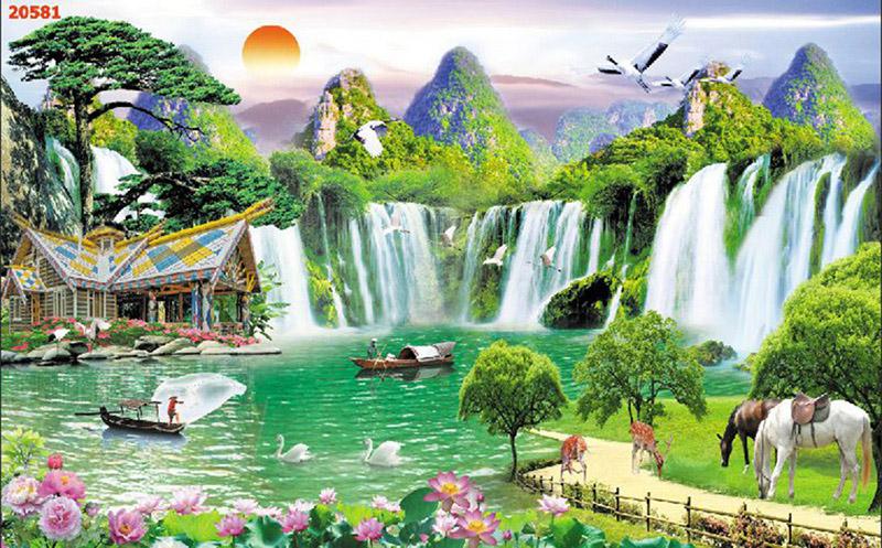 Tranh Sơn Thủy - 20581