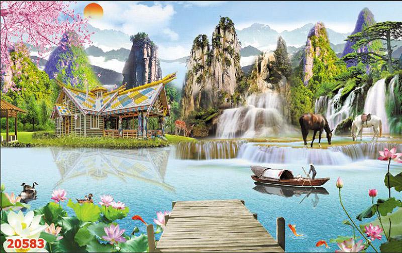 Tranh Sơn Thủy - 20583