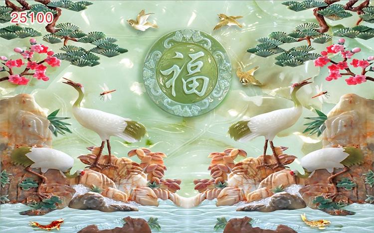Tranh Tùng Hạc - 25100