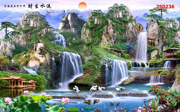 Tranh Sơn Thủy - 25236