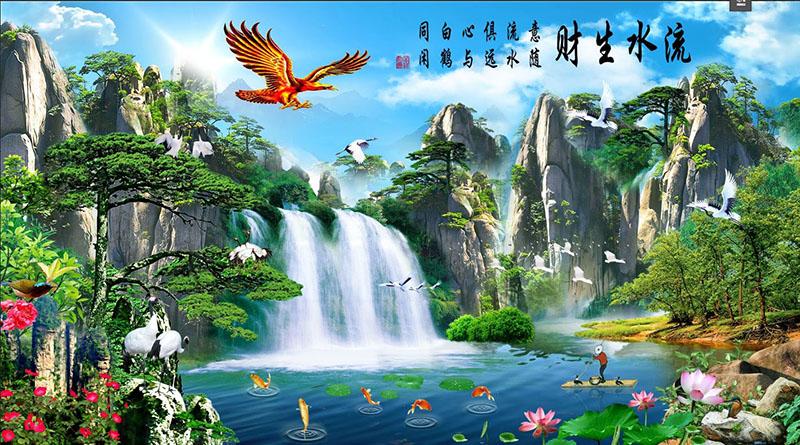 Tranh Sơn Thủy - 10474
