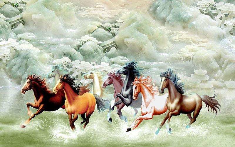 Tranh Mã Đáo Thành Công - 10867