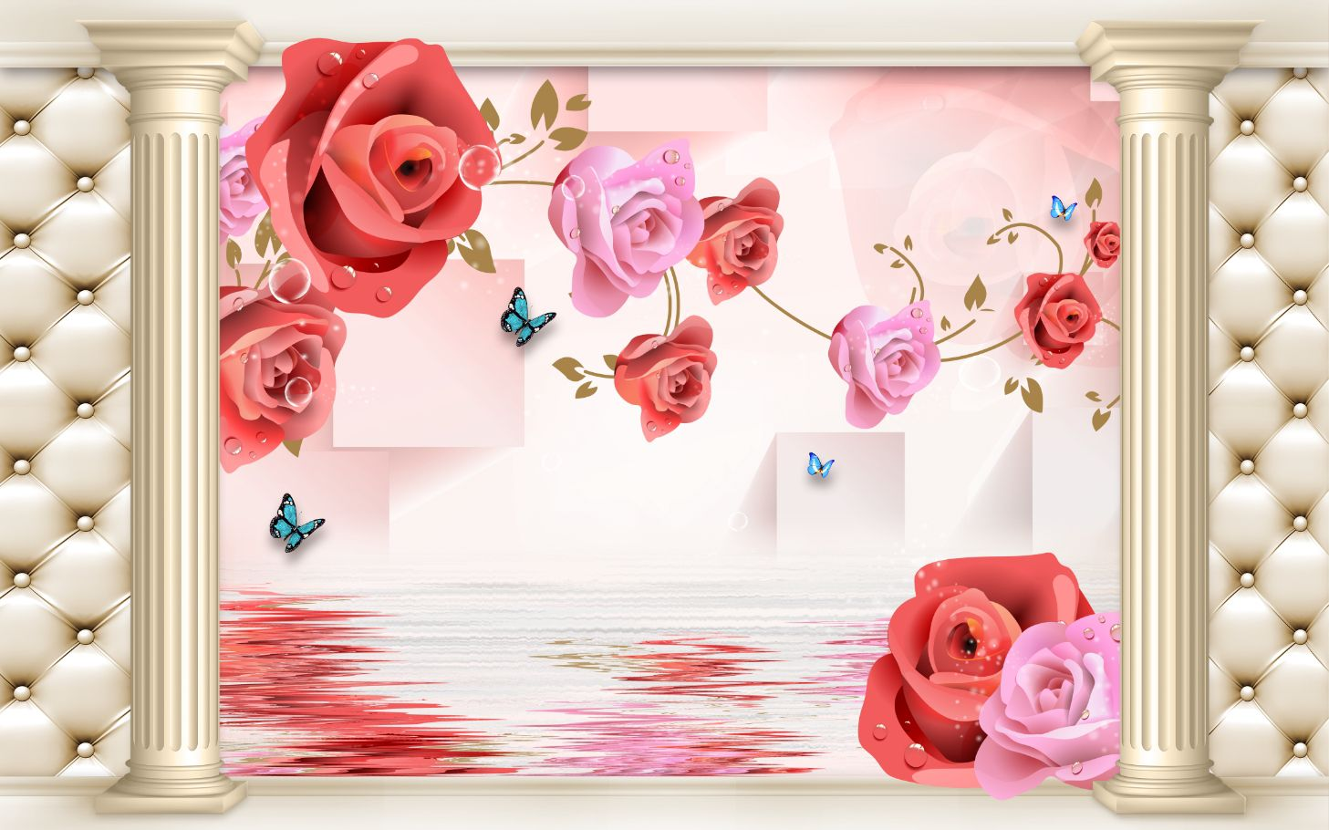 Tranh Hoa 3D - 11395