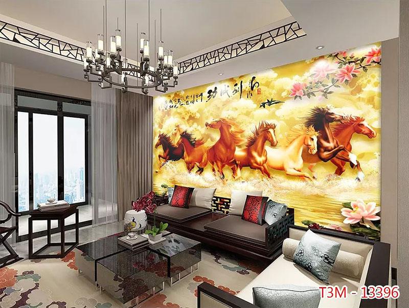 Tranh Bát Mã - 13396
