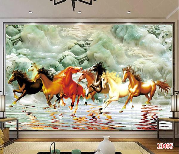 Tranh Mã Đáo Thành Công - 13495