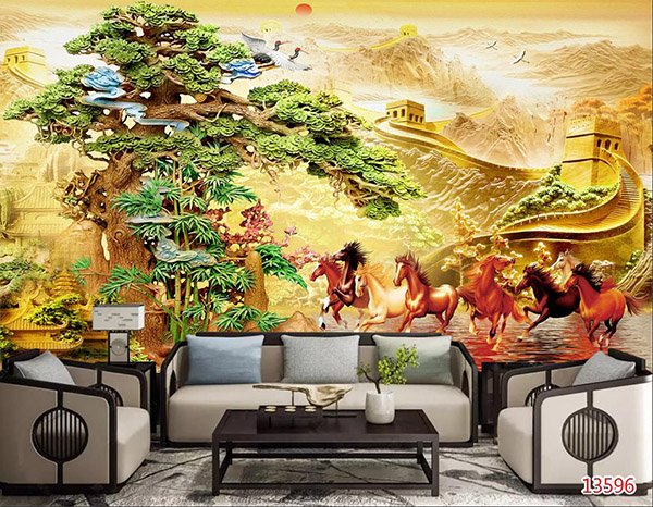 Tranh Mã Đáo Thành Công - 13596