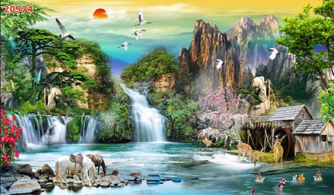 Tranh Sơn Thủy - 20974