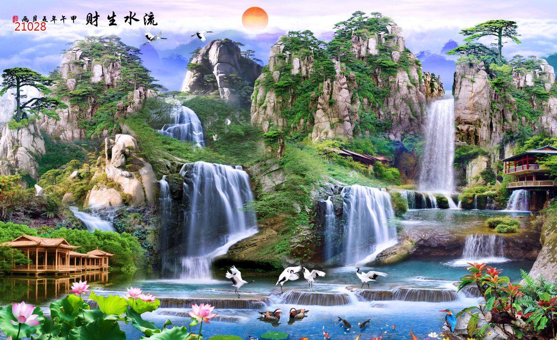Tranh Sơn Thủy - 21028