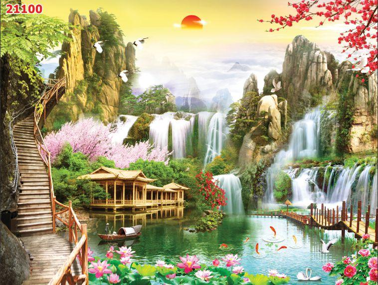 Tranh Sơn Thủy - 21100