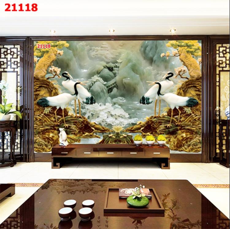 Tranh Tùng Hạc - 21118