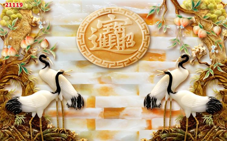 Tranh Tùng Hạc - 21119
