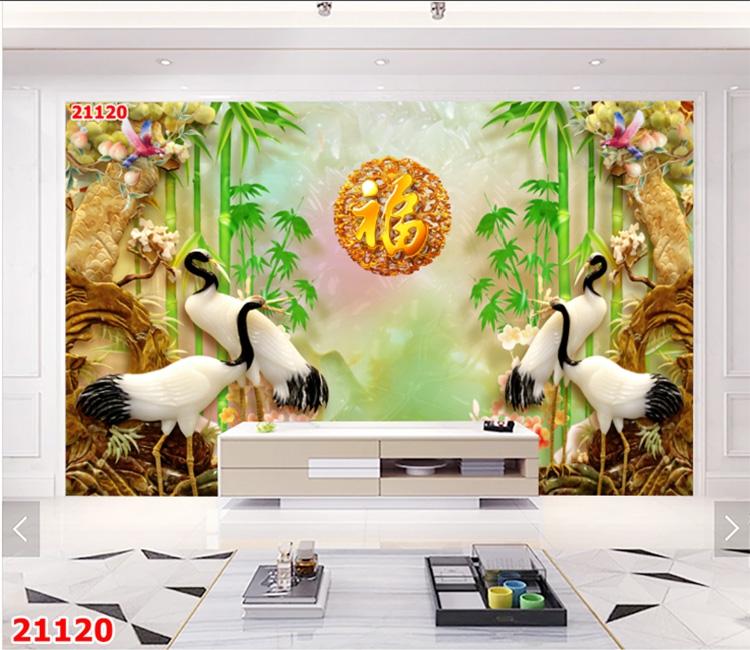 Tranh Tùng Hạc - 21120