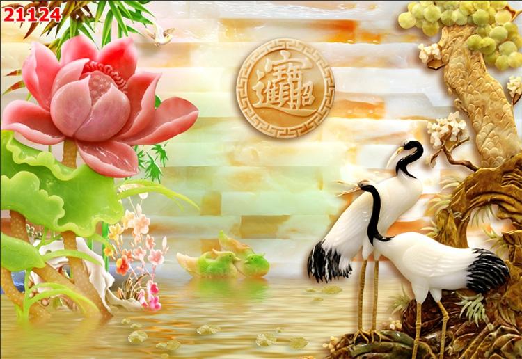 Tranh Tùng Hạc - 21124