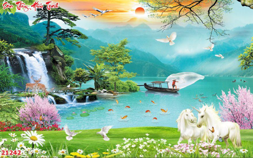 Tranh Sơn Thủy - 21242
