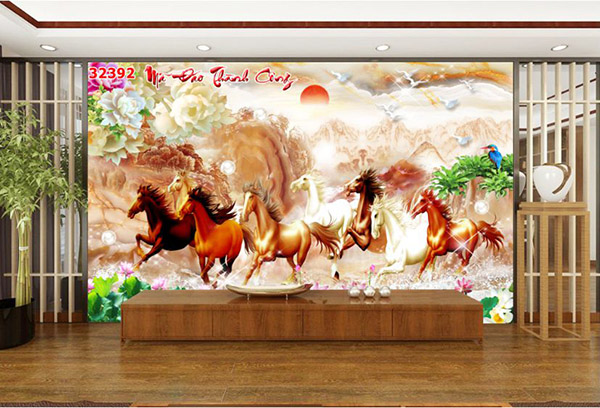 Tranh Mã Đáo Thành Công - 32392