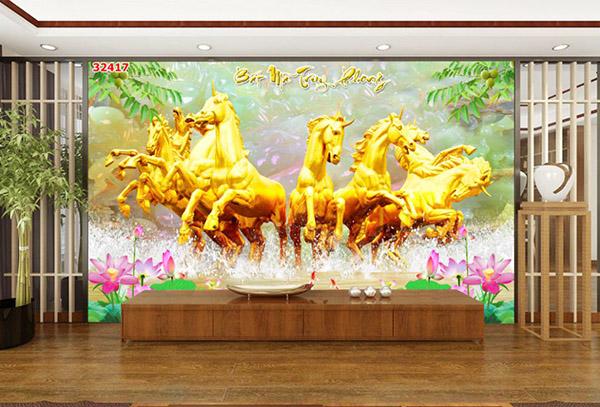 Tranh Mã Đáo Thành Công - 32417