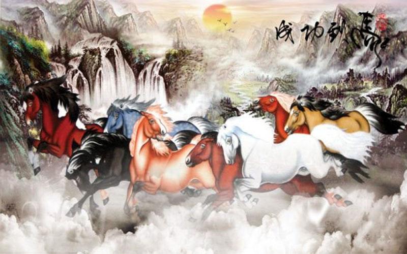 Tranh Mã Đáo Thành Công - MS74
